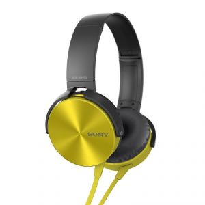 Buy Sony Mdr-xb450 On-ear Extraa Bass Headphone (yellow)-oem online