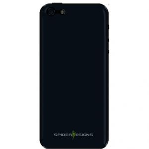 Buy Spider Designs Stickm Anti-gravity Selfie Skin Magical Nano Sticky- iPhone 6 Black online