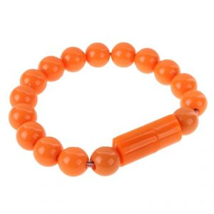 Buy Spider Designs Beeds Bracelets Lightning (i Phone) Orange Sd-237 online