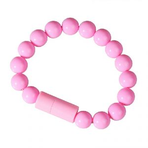 Buy Spider Designs Beeds Bracelets Lightning (i Phone) Pink Sd-239 online