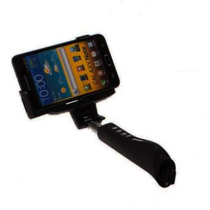 Buy Spider Designs Selfie Stick With Shutter Button Black Sd-324 online