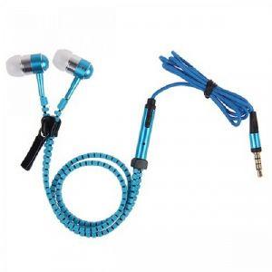 Buy Spider Designs Zip Base Bomb Earphone Blue online