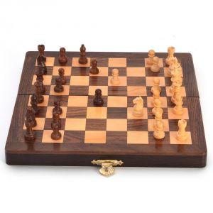Buy Vivan Creation Designer Wooden Chess Board Handicraft Gift -115 online
