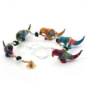 Buy Vivan Creation Rajasthani Handmade Colorful Bird Door Hanging 165 online