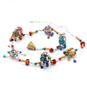 Buy Vivan Creation Handcrafted Rajasthani Elephant Door Hanging -211 online