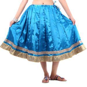Buy Vivan Creation Shree Mangalam Marti Short Satin Lehenga Free Size (product Code - Smskt604) online
