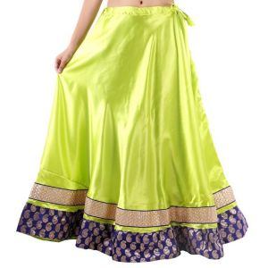Buy Vivan Creation Shree Mangalam Mart Traditional Satin Full Lehenga Free Size (product Code - Smskt607) online
