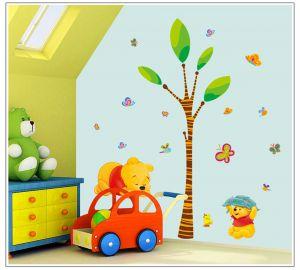 Buy Decals Arts Winnie The Pooh Tigger Cartoon Wall Sticker online