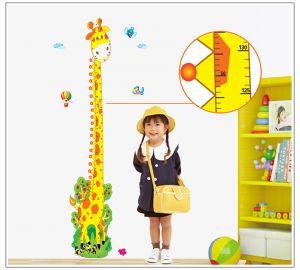 Buy Decals Arts Giraffe Height Measure Wall Sticker online