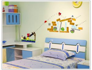 Buy Decals Arts Most Popular Angry Birds Wall Sticker For Kids online