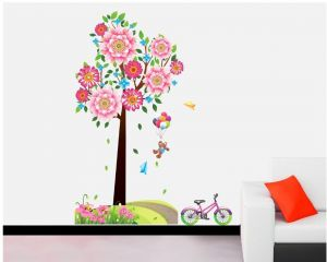 Buy Decals Arts 3d 9002 Beautiful Wall Sticker For Home Dcoration online