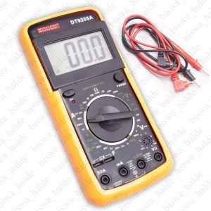 Digital KOCCU DT9205A LCD Handheld Multitester Voltmeter Ammeter Ohm MultimeterT Test Leads-01