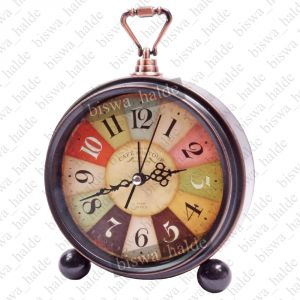 Buy Exclusive Antique Ana Log Gift Table Wall Desk Self Loud Sound Clock Watch With Alarm 95 online