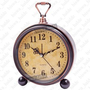 Buy Exclusive Antique Ana log Gift Table Wall Desk Self loud Sound Clock Watch with Alarm online