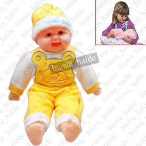 Buy 44cm Laughing Doll Child Boy Baby Love Gift Soft Toy Toys For