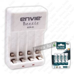 Buy Travel Envie Beetle Charger Ecr 4xaa, 4aaa 2100 Electronic Rechargeable Camera Battery Charger-07 online