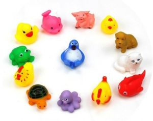 Buy Kuhu Creation Baby Swimming Sounding Bath Toy - 13 Pieces online