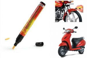 Buy Spidy Moto Auto Smart Coat Paint Scratch Repair Remover Touch Up Pen For Honda Activa online