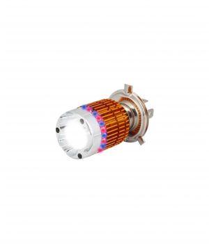 Buy Spidy Moto LED Headlamp And Flashing Mode Bajaj Discover 150 Dts-i online