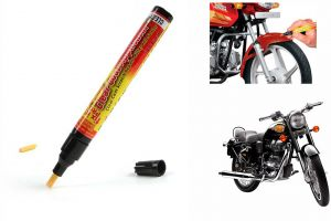 Buy Spidy Moto Auto Smart Coat Paint Scratch Repair Remover Touch Up Pen For Royal Enfield Standard Street Bullet 500 online