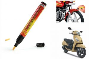 Buy Spidy Moto Auto Smart Coat Paint Scratch Repair Remover Touch Up Pen For Tvs Jupiter online