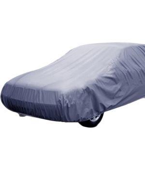 Buy Spidy Moto Elegant Steel Grey Color With Mirror Pocket Car Body Cover Volkswagon Vento online
