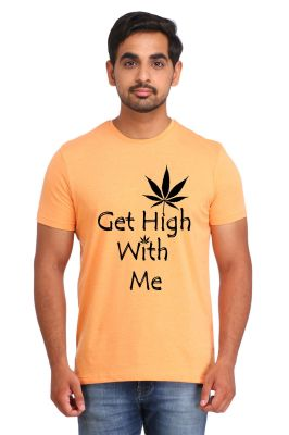 Buy Snoby Get High Print T-shirt (sby17046) online