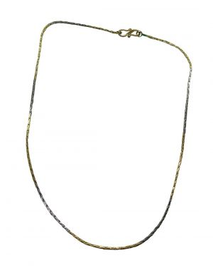 Buy Snoby Gold And Silver Plating Chain Sbyrsj_019 online