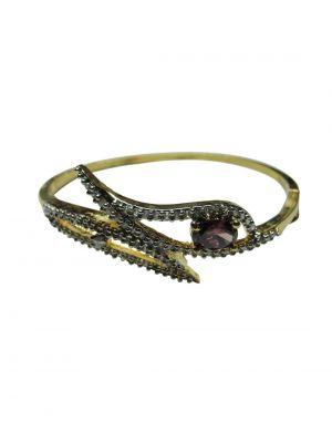 Buy Snoby American Diamond Purple Stone Bracelet Sbyrsj_022 online