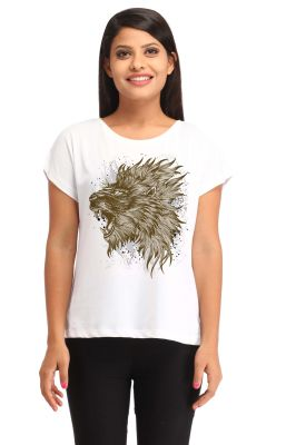 Buy Snoby Tiger Print T-shirt (sby1326) online