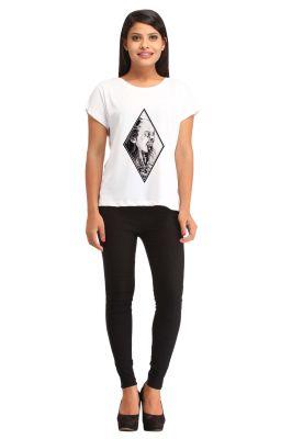 Buy Snoby Female Print T Shirt (sbypt1448) online