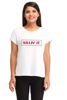 Buy Snoby Killin`it Print T Shirt (sbypt1504) online