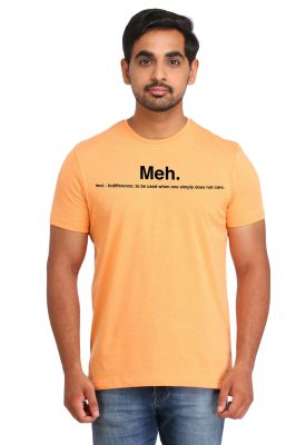 Buy Snoby Meh Printed T-shirt (sby15205) online
