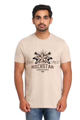 Buy Snoby Rockstar Printed T-shirt (sby15232) online