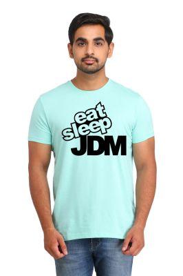 Buy Snoby Eat Sleep Jdm Printed T-Shirt online