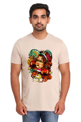 Buy Snoby Portrait Print T-shirt( Sby17794) online