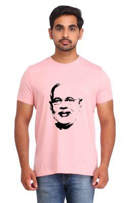 Buy Snoby Narendra Modi Portrait Print T-shirt (sby17824) online