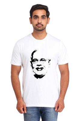 Buy Snoby Narendra Modi Portrait Print T-Shirt online