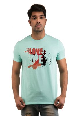 Buy Snoby Love Me Printed T-shirt (sby17982) online
