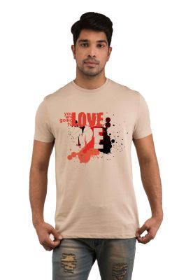 Buy Snoby Love Me Printed T-shirt (sby17984) online