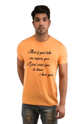 Buy Snoby Love Quote Printed T-shirt(sby18146) online