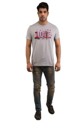Buy Snoby Love Rose Printed T-shirts (sby18214) online