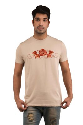 Buy Snoby Golden Roses Printed T-shirts (sby18222) online