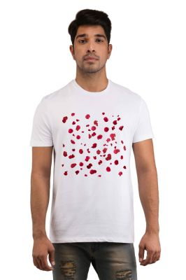 Buy Snoby Rose Drops Printed T-Shirts online