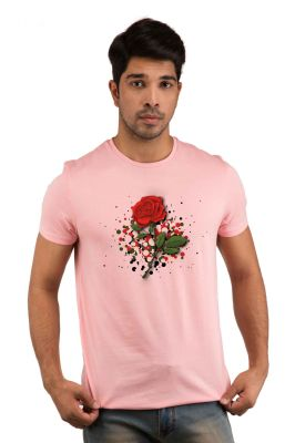 Buy Snoby Roses Printed T-shirts online