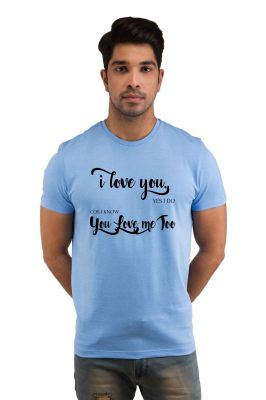 Buy Snoby I Love You Printed T-shirt online