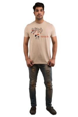 Buy Snoby Propose Day Printed T-shirt online