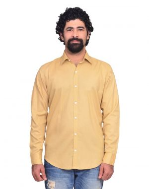 Buy Snoby Brown Colored Casual Cotton Shirt (sby8035) online