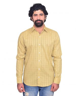 Buy Snoby Brown Colored Casual Cotton Shirt (sby8037) online