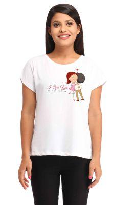 Buy Snoby Pretty Love Printedt-Shirt online
